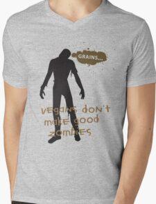 Vegan Zombies Mens V-Neck T-Shirt