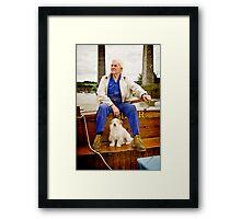The Ferryman Framed Print