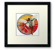 Red Tailed Angels Framed Print