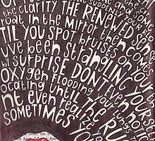 A Sharp Inhale by Kim Throneberry