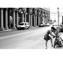A Street in Conservative Torino Photographic Print