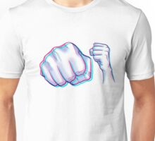 POW! Anaglyph Unisex T-Shirt