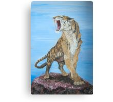 Sabre-tooth Canvas Print