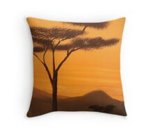 serengeti Throw Pillow