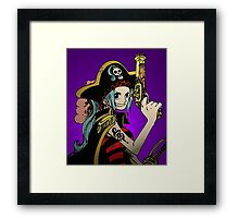 "One Piece: ""I'm Going to Be Queen of the Pirates!"" Framed Print"