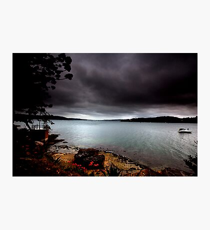 Stormy View From Shark Island Sydney Photographic Print