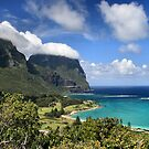 Mount Gower Clouds, Lord Howe Island by Martin Levett