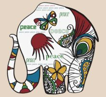 Peace Elephant by © Cassidy (Karin) Taylor