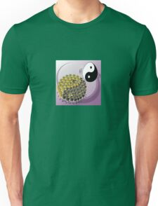 Two Scrambled Eggs - Yin-Yang Unisex T-Shirt