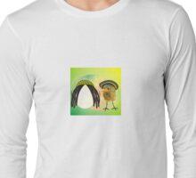 Two Scrambled Eggs - rEGGae Long Sleeve T-Shirt