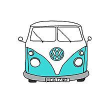 VW Bus Photographic Print