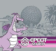 Welcome to EPCOT CENTER (Figment) by Jou Ling Yee