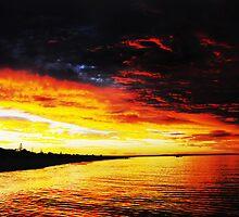 Sunset by Julia Harwood