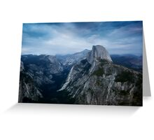 Storm Over Yosemite Greeting Card