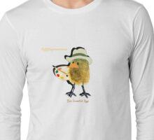 Two Scrambled Eggs - EGGspressionism Long Sleeve T-Shirt