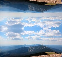 Mirrored Mountains by Ryaanjohnston