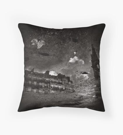 Rain Visions Throw Pillow