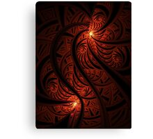 Leave a light on in Hell for me Canvas Print