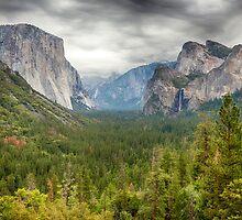 Yosemite Valley by Dmitry Shuster