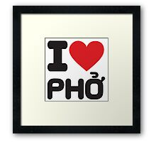 phoking good Framed Print