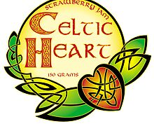 Celtic Heart Strawberry Jam by robertemerald