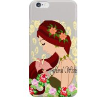 Floral Wishes iPhone Case/Skin