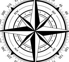 True North Compass  by Erik  Coleman