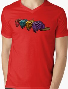 Zebrapotamus V.02 Mens V-Neck T-Shirt