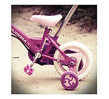 Girls bike dream... Photographic Print