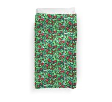 Ladybugs in the Hedge Duvet Cover