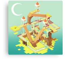 Monument Valley Fan Art Design Canvas Print