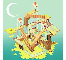 Monument Valley Fan Art Design Photographic Print