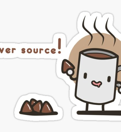 Power source! Sticker