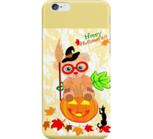 Halloween Teddy with glasses (4419 Views ) iPhone Case/Skin