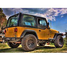 Jeep Wrangler Photographic Print