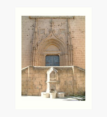 St Bartolome's Church  Art Print