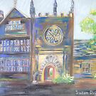 Entrance to East Riddlesden Hall by Susan Duffey