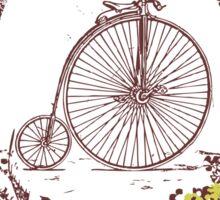 ride on my bike Sticker