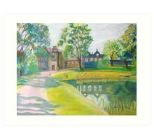East Riddlesden Hall - First Impressions Art Print