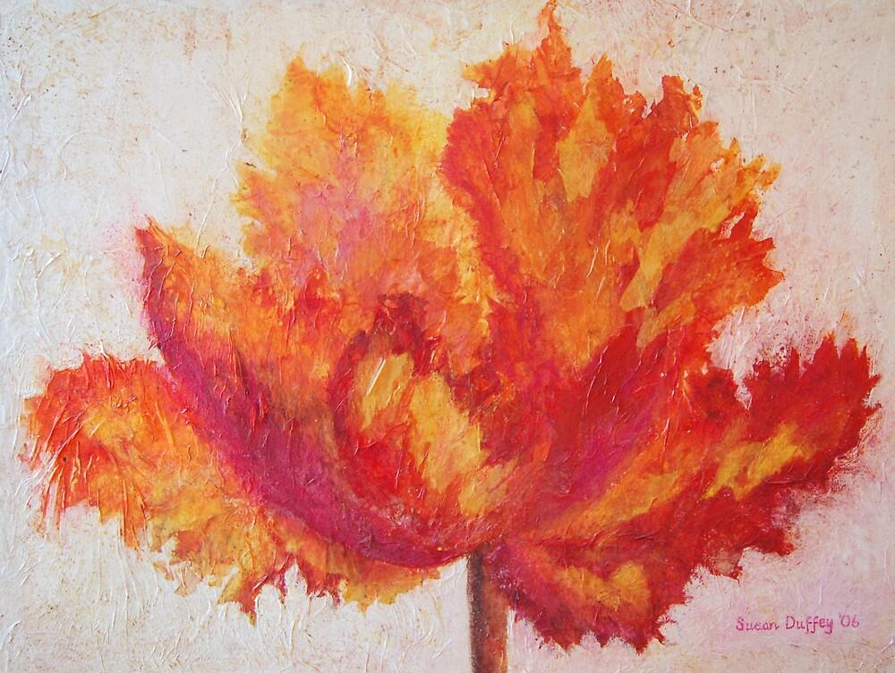 Parrot Tulip by Susan Duffey
