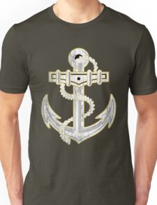Vintage GOLD Anchor  Unisex T-Shirt