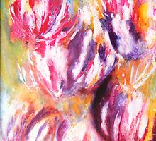 Rainbow Tulips by Susan Duffey