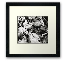Crab Claws Framed Print