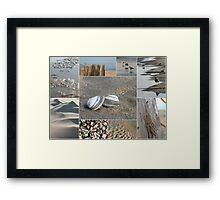 A Day at the Beach © Framed Print