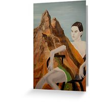 Models of Zion, Mila Greeting Card