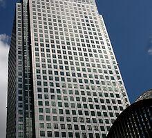 Canary Wharf Buildings by stebird