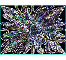 Colored Glass Photographic Print