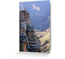 Condor at The Grand Canyon Greeting Card