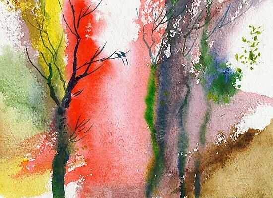 Love Birds 2 by Anil Nene