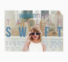 Taylor Swift 1989 World Tour Design Kids Tee